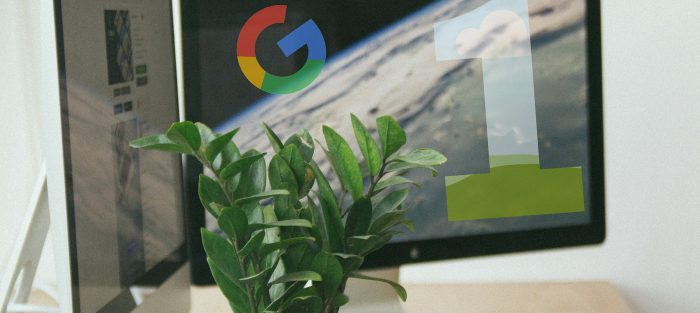 Google Page One Article Cover Photo